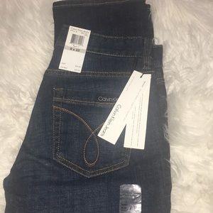 NWT Calvin Klein Skinny Jeans 0/25
